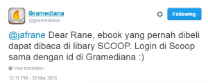 Blog: Layanan Ebook Gramediana Melebur Ke SCOOP! – suaRane
